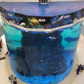 от 20 мм до 500 мм акрилни панели за модерна голяма риба