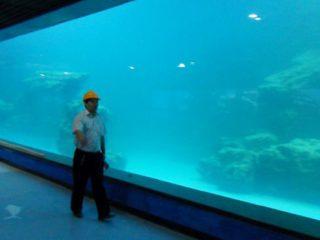 Ултра акрилен панел за аквариум, океанариум