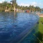 Персонализиран акрилен панел за басейн за гмуркане