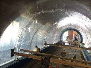 Персонализиран акрилен проект за тунелни акрилни пластмаси