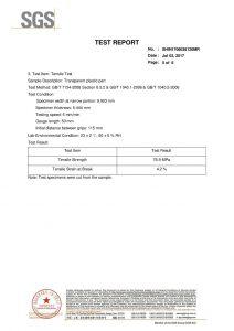Сертификат за изпитване SGS EN