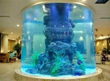 резервоар за кристални риби