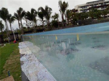 нарязани на открито акрилни плувни басейни