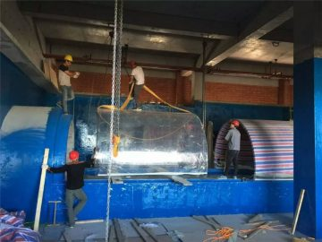 пластмасов аквариум акрилен тунел за аквариум